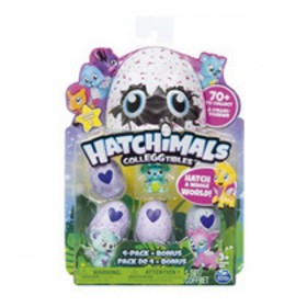 HATCHIMAL COLECCIONABLE 4 FIG.