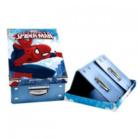 CAJA PLEGABLE SPIDERMAN