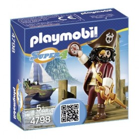 SHARKBEARD PIRATA PLAYMOBIL...