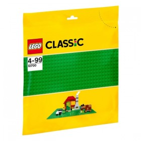 Base de color verde de LEGO...