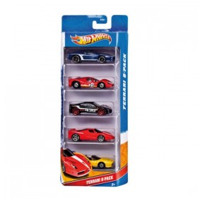 PACK DE 5 VEHICULOS HOT WHEELS