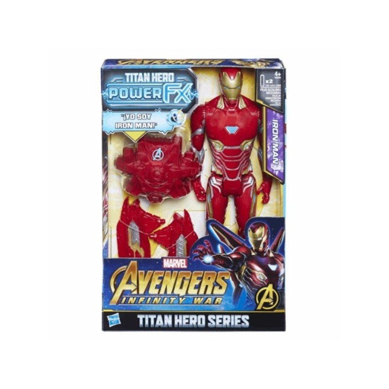 Iron Man Titan Hero Power FX de Hasbro