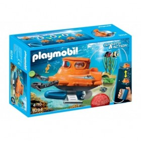 Submarino con Motor de...