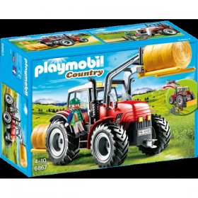 Tractor de Playmobil...