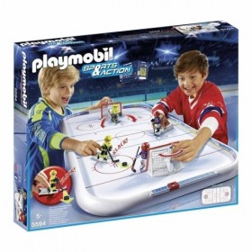 Campo de Hockey Sobre Hielo...