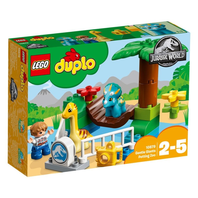 Jurassic World Minizoo Gigantes Mansos De Lego Duplo
