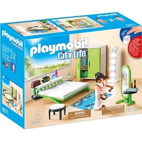 Dormitorio de Playmobil...