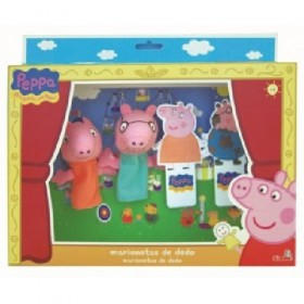SET 2 MARIONETAS PEPPA  + 2...