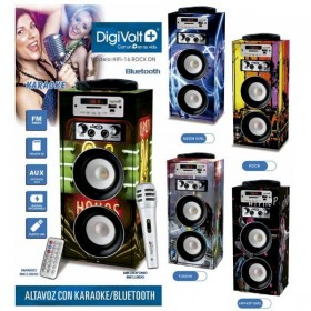 ALTAVOZ KARAOKE RADIO SD/USB