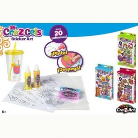 3D CRA-Z-GELS DECORA TU...