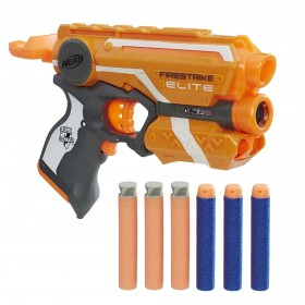 NERF ELITE FIRESTRIKE DOBLE...