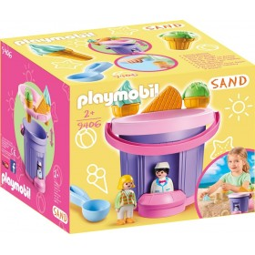 CUBO HELADERIA PLAYMOBIL SAND