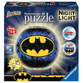Lámpara Puzzle 3D de Batman