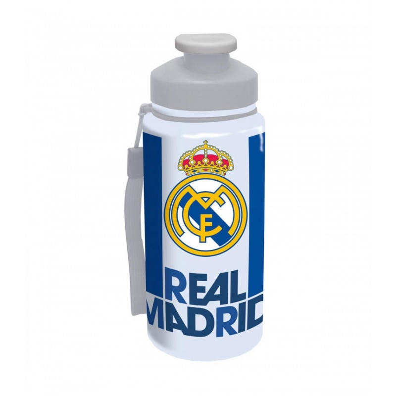 500 ml Botella Infantil Color Blanco y Azul Export.CM 052519 Real Madrid