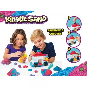 KINETIC SAND CAMION HELADERIA