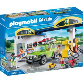 GASOLINERA PLAYMOBIL CITY LIFE