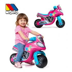 MOTO MOLTO CROSS RACE ROSA
