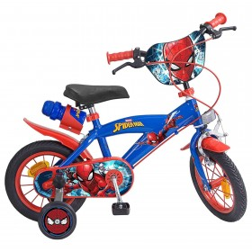 SPIDERMAN BICICLETA