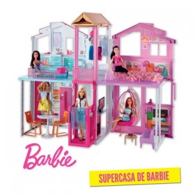 BARBIE SUPERCASA DE MATTEL