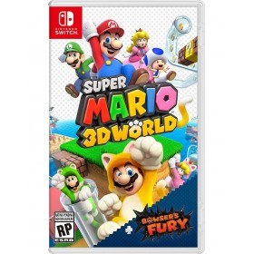 SWITCH SUPER MARIO 3D WORLD...