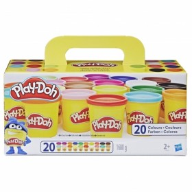 PLAY DOH PACK 20 BOTES
