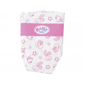 BABY BORN PAÑALES PACK 5 UD