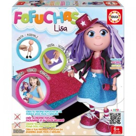 Fofucha Lisa Pop Star de Educa