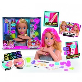 BARBIE FLIP AND REVEAL BUSTO