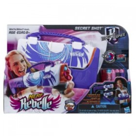 NERF REBELLE SECRET SHOT...