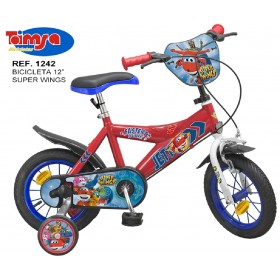 "BICICLETA 12"" SUPER WINGS"