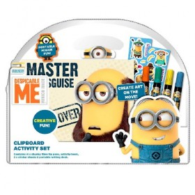 CLIPBOARD ACTIVITY SET MINIONS