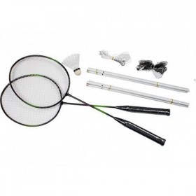 Set Badminton Raquetas y Red