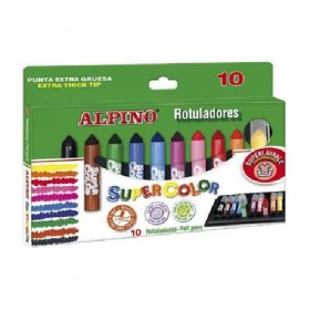 ROTULADORES SUPERCOLOR ALPINO