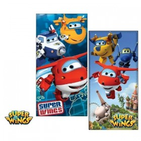 TOALLLA DE PLAYA SUPER WINGS