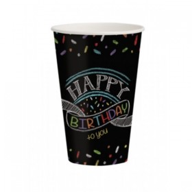 VASOS CHALK BIRTHDAY
