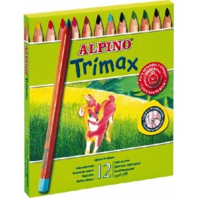12 LAPICES ALPINO TRIMAX