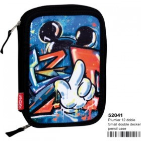PLUMIER DOBLE MICKEY FREEDOM