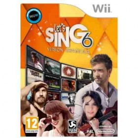 WII LETS SING 6 VERSION...