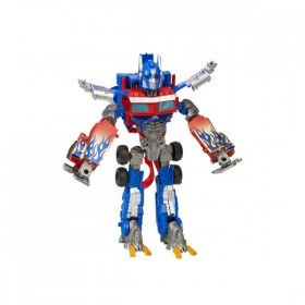 ROBOT TRANSFORMABLE ROJO 38 CM