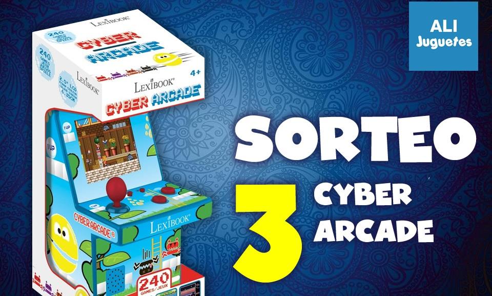 Sorteamos 3 Cyber Arcade