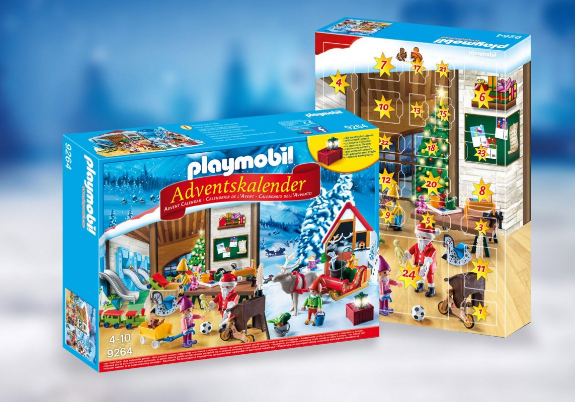 Calendario de adviento Playmobil