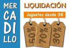 Mercadillo de liquidación en ALI Juguetes: ¡los mejores precios!