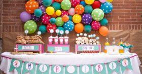 Celebrar cumpleaños en casa