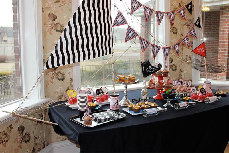 fiesta cumpleaños pirata