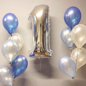 fotos globos de helio numero