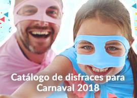 Catálogo de disfraces para Carnaval 2018